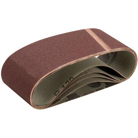Bandas de lija 75 x 480 mm, 5 pzas Grano 120 - NEOFERR