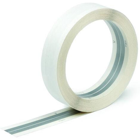 Bande à joint papier armée pour angle saillant Placo®- rouleau 5 cm*30 m