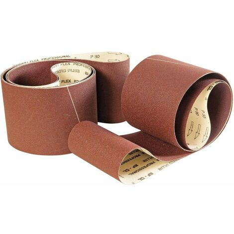 Bande abrasive 2260x150 mm grain 80 pour ponceuse à bande
