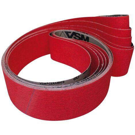 Bande abrasive céramique 75x533mm G120 VSM 1 PCS