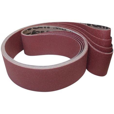 Bande abrasive corindon KK711X 75x533mm G150 VSM 1 PCS