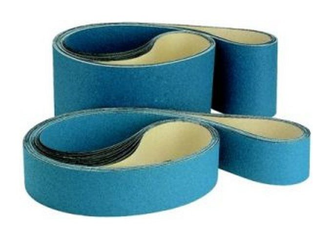 Ponceuses /à bande portatives Lot de 10 Grain 40 MENZER Blue Bandes abrasives p 457 x 75 mm