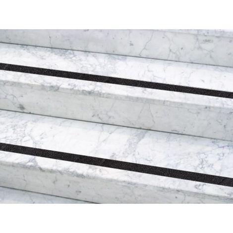 Bande antidérapante adhésive Dinastair en largeur 50 mm en rouleau de 15,30 m