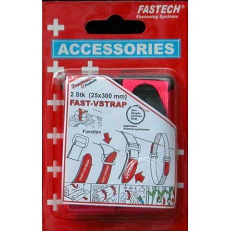 Bande auto-agrippante FASTECH® 688-454 688-454 avec boucle partie velours et partie agrippante (L x l) 300 mm x 25 mm v
