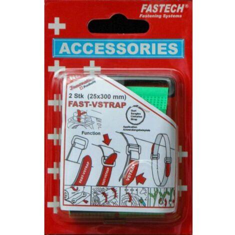 Bande auto-agrippante FASTECH® 688-656 688-656 avec boucle partie velours et partie agrippante (L x l) 300 mm x 25 mm v