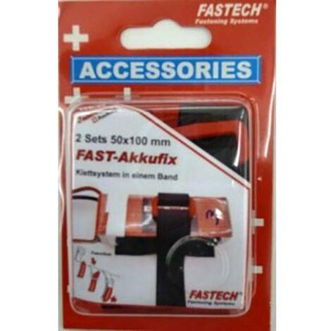 Bande auto-agrippante FASTECH® 702-330-Mod1 702-330-Mod1 à coller, avec boucle partie velours et partie agrippante (L x