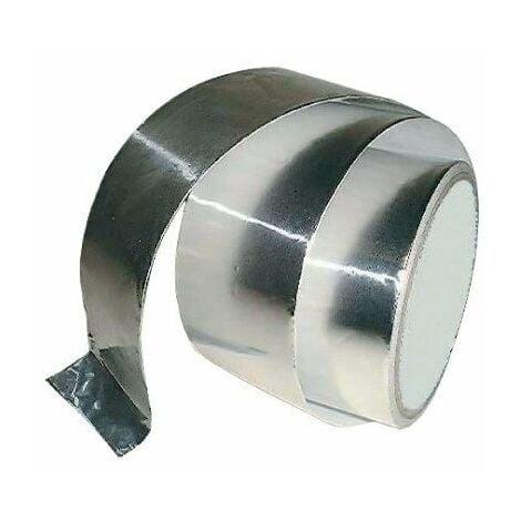 Bande autocollante aluminium 120°c 10