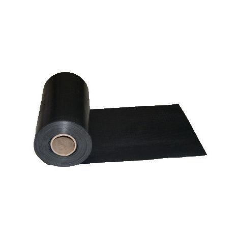 Bande d'arase 300 microns noire 25 X 0.26 m