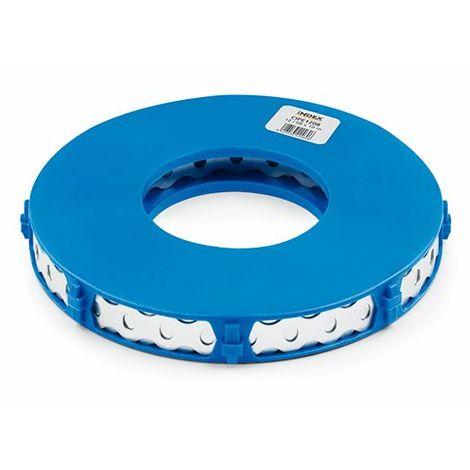 Bande d'assemblage perforée courbée Inox A2 17 x 0,8 mm x L. 10 m - CIPEA21708 - Index - Autre