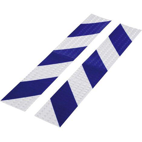 Bande davertissement RTS Conrad Components 1226956 bleu, argent (L x l) 400 mm x 60 mm 2 pc(s)