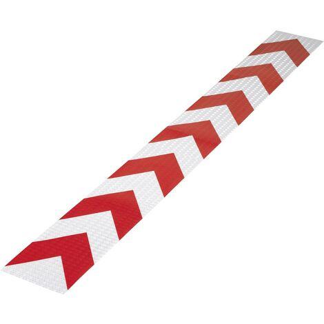 Bande davertissement TOOLCRAFT RTS115/1000-RD 1564156 RTS rouge (L x l) 1 m x 11.5 cm 1 pc(s)