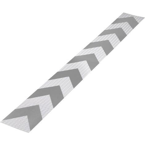 Bande davertissement TOOLCRAFT RTS115/1000-SV 1563960 RTS argent, gris (L x l) 1 m x 11.5 cm 1 pc(s)