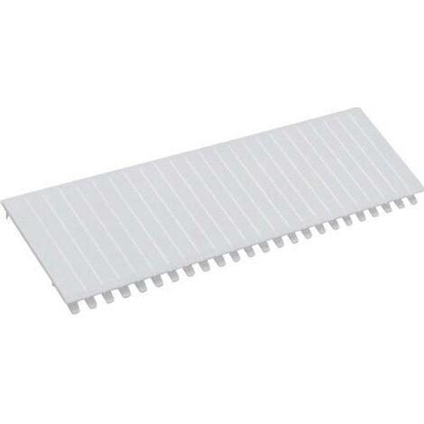 Bande de recouvrement Hager S35S S35S plastique blanc pur (RAL 9010) 1 pc(s) C132261