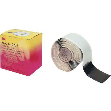 Bande de réparation Scotch® 2228 3M 7000005986 noir (L x l) 3.1 m x 50 mm 3.1 m