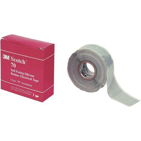 Bande de réparation Scotch® 70 3M SCOTCH70-25X9 gris clair (L x l) 9 m x 25 mm 1 pc(s)