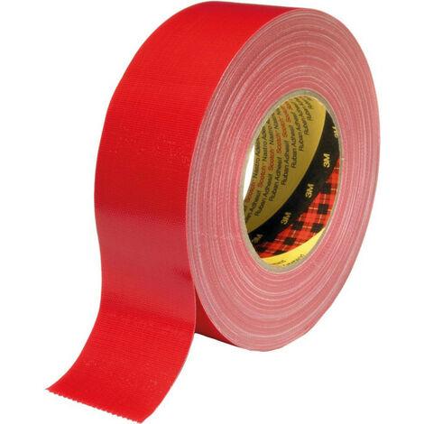 Bande de tissue 389 rouge 25mmX50m Scotch (Par 36)