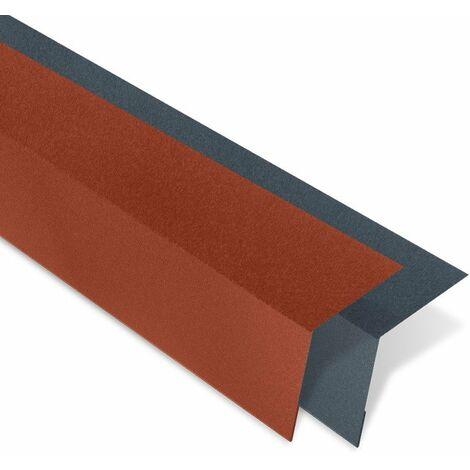 Bande d'égout mat texturé pour panneau imitation tuiles - IRIS®
