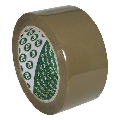 Bande d'emballage F290 polypropylène avec colle caoutchouc naturel 50mmx66m brun