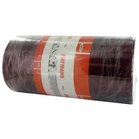 Bande d'étanchéité autocollante à froid rouge brique EMFI 30cm x 10m