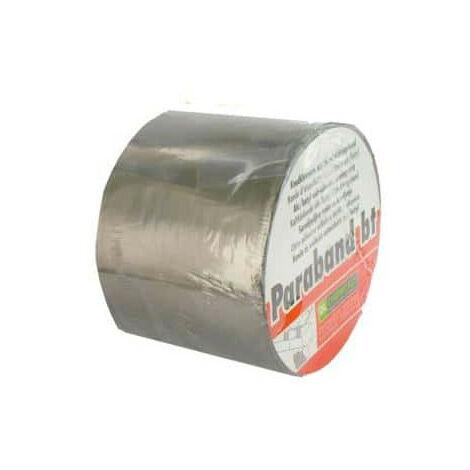 Bande d'étanchéité autocollante DL Chemicals alu butyl 100mm x 10m - Gris