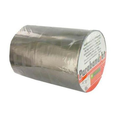 Bande d'étanchéité autocollante DL Chemicals alu butyl 200mm x 10m - Gris