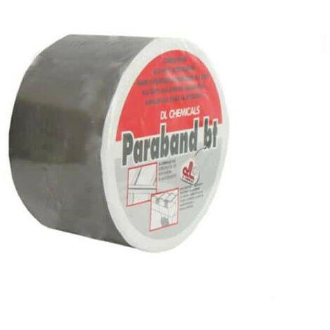 Bande d'étanchéité autocollante DL Chemicals alu butyl 75mm x 10m - Gris