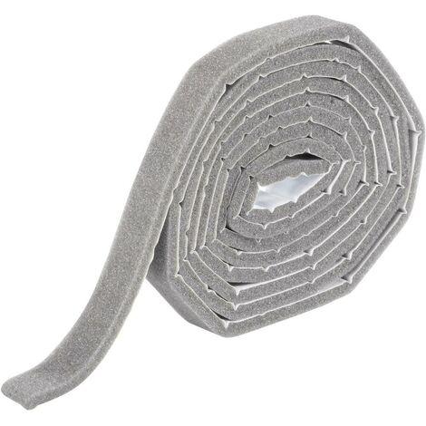 Bande détanchéité en mousse de polyuréthane Wallair N35870 gris
