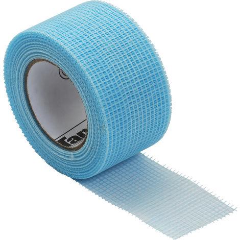 Bande fibre de verre auto adhésive 45 m x 48 mm Fiba Tape - l'outil parfait