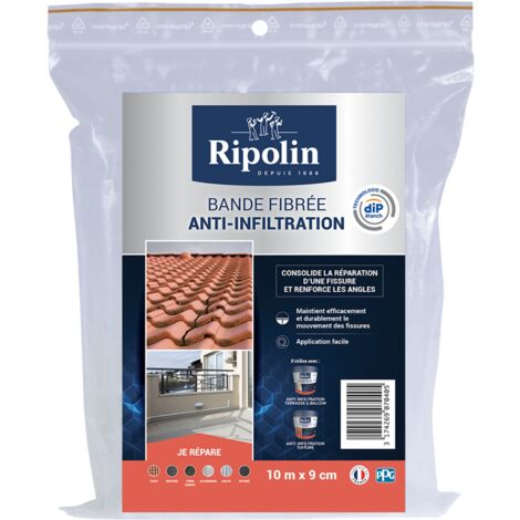 Bande Fibrée Anti-Infiltration, Ripolin