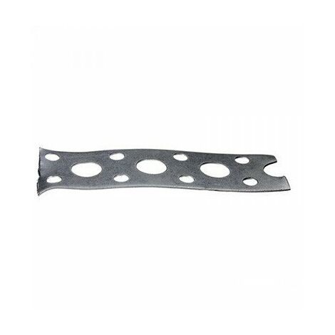 Bande perforée en acier galvanisé - 10m x 17mm