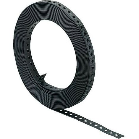 Bande perforee plastifie Largeur 27 mm / Rolle a 10 m