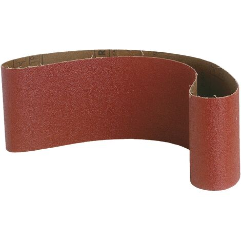 Bande sans fin abrasive SCID - Dimensions 75 x 457 mm - Grain 80 - Vendu par 3