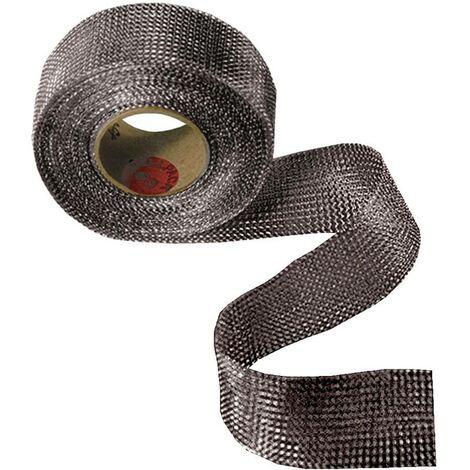 Bande tressée en cuivre CellPack 126315 argent (L x l) 5 m x 60 mm 5 m