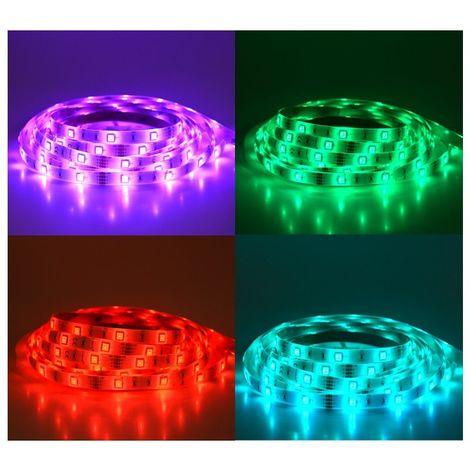 BANDEAU 5m LED 36W 12VDC IP65 (polyuréthane) RGB