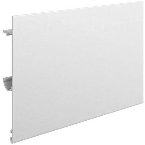 Bandeau de finition aluminium anodisé naturel pour Slid'Up 160/170