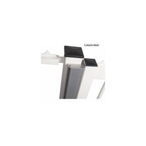 Bandeau de finition RAL 9005 pour ventouses MAG-UNIT 2500 / PROFIL EN ALU DE 2M - LOCINOX - - NLINEBMAG9005.