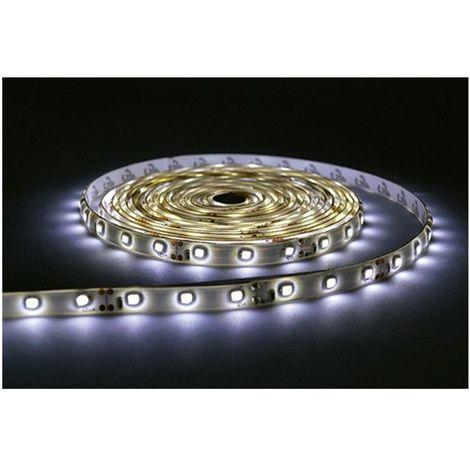 BANDEAU LED 24W 12V DC IP65 (époxy) Blanc neutre 6000°K Rouleau de 5 m