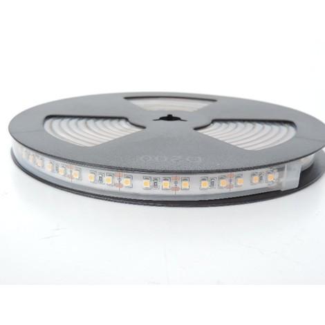 Bandeau LED 48W flexible exterieur longueur 5m 3000K 120leds/m alimentation 12V DC (non incl) IRC80 IP66 TRAJECTOIRE 003778