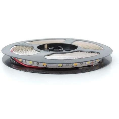 Bandeau LED 72W flexible intérieur longueur 5m dimmable 3000K 6000K alimentation 12V DC (non incl) IRC80 IP20 TRAJECTOIRE 003785