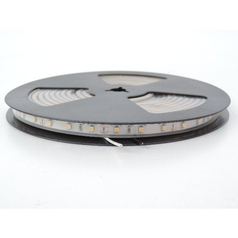 Bandeau LED flexible 24W exterieur longueur 5m 3000K 60leds/m alimentation 12V DC (non incl) IRC80 IP66 TRAJECTOIRE 003776