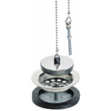 Bandeja de desagüe con rebosadero - diámetro 84 - NICOLL : 0204011