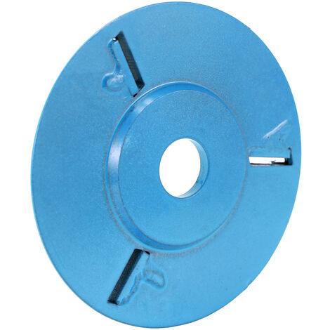 Bandeja de te Turbo para carpinteria de tres dientes, herramienta de disco de talla de madera para excavacion, cortador de fresado