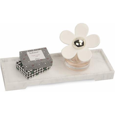 Bandeja de vanidad de efectos de mármol ( Marble Effect Vanity Tray) Pukkr Small