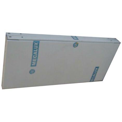 Bandeja estanteria 60x40cm metal gris mecalux 600x400