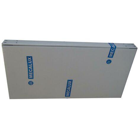 Bandeja estanteria 70x40cm metal gris mecalux 700x400