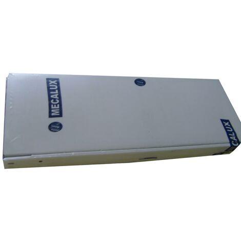 Bandeja estanteria 80x30cm metal gris mecalux 800x300
