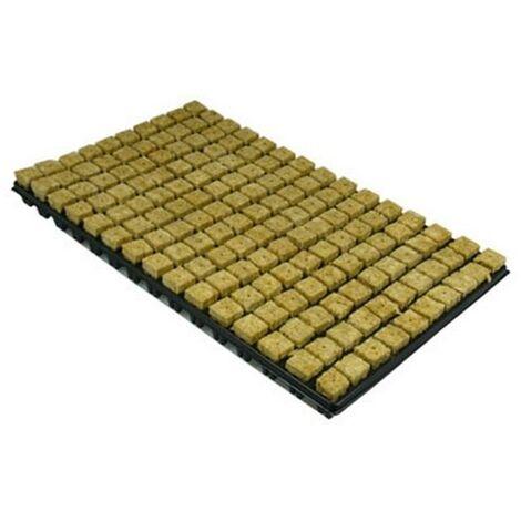 Bandeja Semillero con 150 Alveolos. Incluye Lana de Roca. Germinación Efectiva
