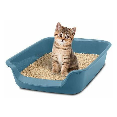 """Bandeja WC para gatos """"Junior Toilet"""" apto para todo tipo de gatos, con bandeja de entrada, material duradero"""