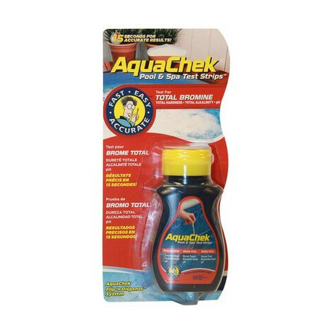 Bandelettes de test AQUACHEK BR/PH/ALC rouge (046491)