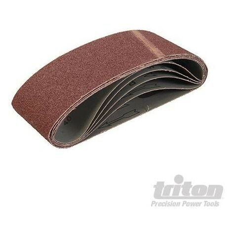 Bandes abrasives 100 x 610 mm, 5 pcs, Grain 40